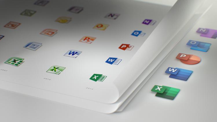New Microsoft Icons - Ahead4 News