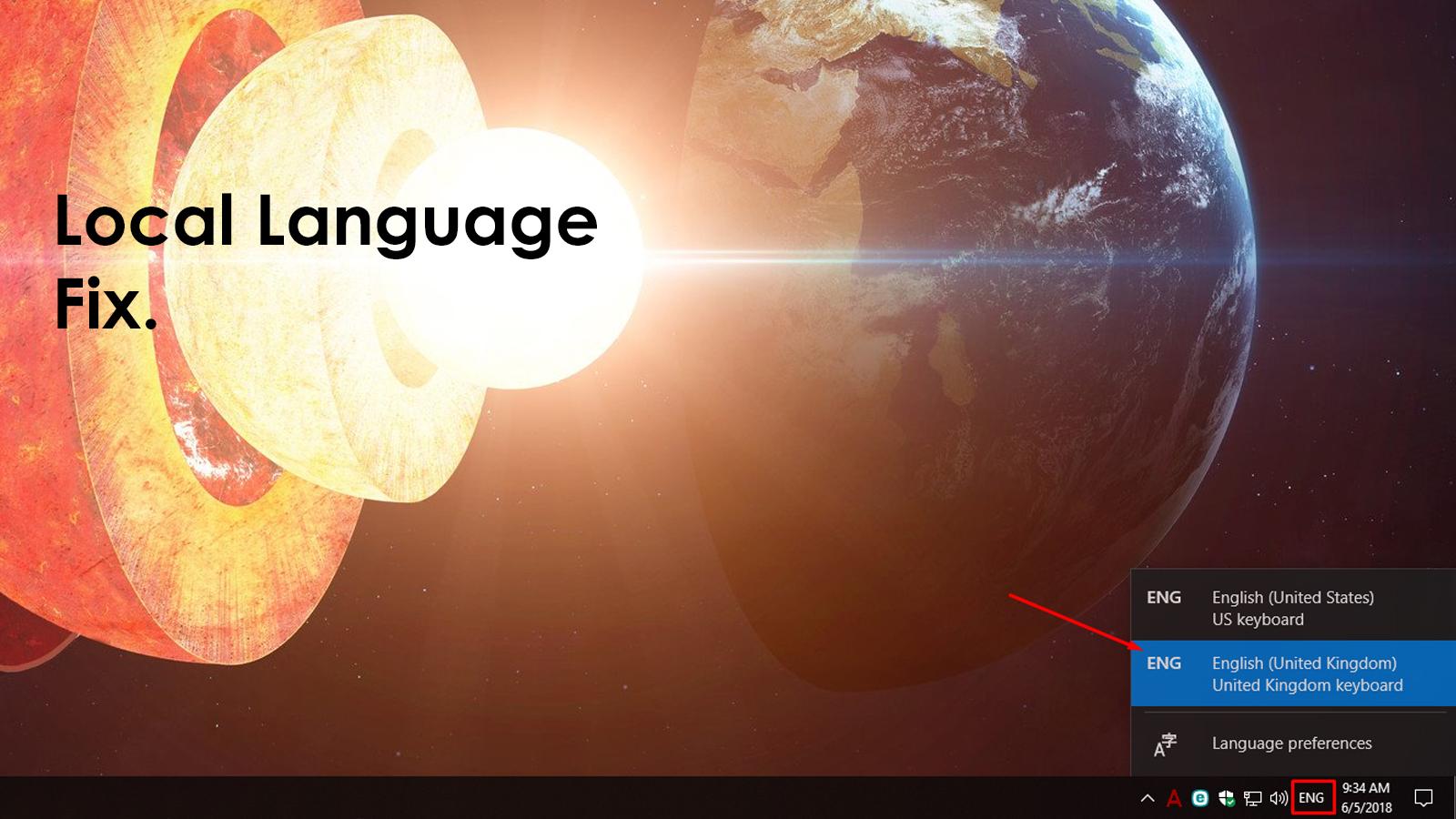 Ahead4 Local Language Fix